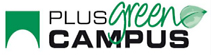 logo plus green campus